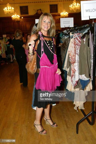 Kim Medcalfe during Billion Dollar Babes Party at Porchester Hall in London Great Britain