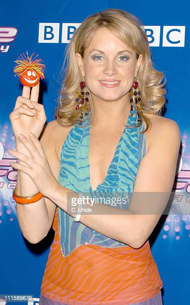 Kim Medcalfe during Comic Relief Does Fame Academy 2005 Grand Finale at BBC Television Centre in London Great Britain