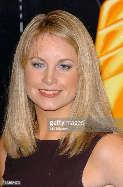 Kim Medcalfe during RTS Programme Awards 2004 at Grosvenor House Hotel in London Great Britain