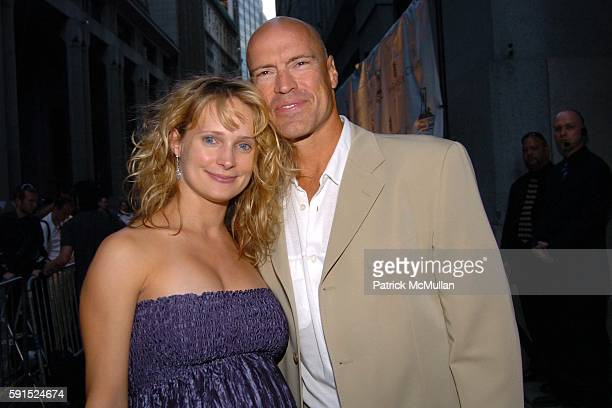 Kim Messier and Mark Messier attend de Grisogono Sponsors The 2005 Wall Street Concert Series Benefiting Wall Street Rising with a Performance by...
