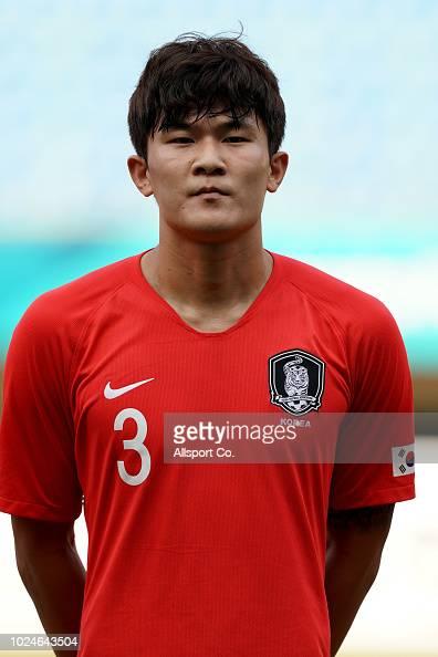 Kim Minjae of South Korea during the Men's Football ...