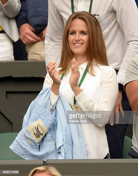 Kim Murray attends day six of the Wimbledon Tennis Championships at Wimbledon on July 02, 2016 in London, England.