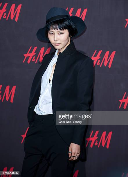 Kim Na-Young attends the 'H&M' 2013 Fall Collection Preview Party on September 3, 2013 in Seoul, South Korea.