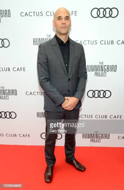 """Kim Nguyen attends the Cactus Club Cafe and Audi Celebrate """"The Hummingbird Project"""" Starring Salma Hayek, Jesse Eisenberg and Alexander Skarsgard at..."""