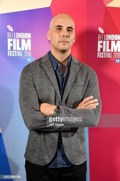 """Kim Nguyen attends the European Premiere of """"The Hummingbird Project"""" at the 62nd BFI London Film Festival on October 13, 2018 in London, England."""