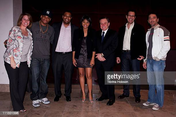 Kim Niemi Tristan Wilds Matthew Blakely Erica Hubbard Jerry Mathers Matt Loze and Scott Baio arrive at the USC and Blakely Legal Group TV 101...