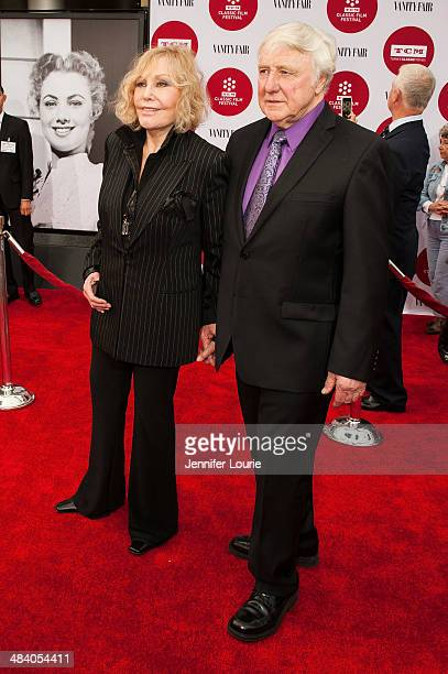 Kim Novak and Robert Malloy attend the 2014 TCM Classic Film Festival's opening night gala and world premiere of the restoration of Oklahoma hosted...