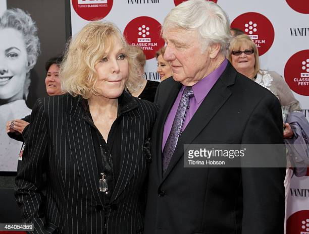 Kim Novak and Robert Malloy attend the TCM Classic Film Festival opening night gala for 'Oklahoma' at TCL Chinese Theatre IMAX on April 10 2014 in...