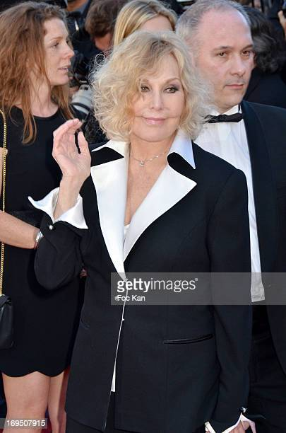 Kim Novak arrives at'Venus In Fur' Premiere during the 66th Annual Cannes Film Festival at Grand Theatre Lumiere on May 25 2013 in Cannes France