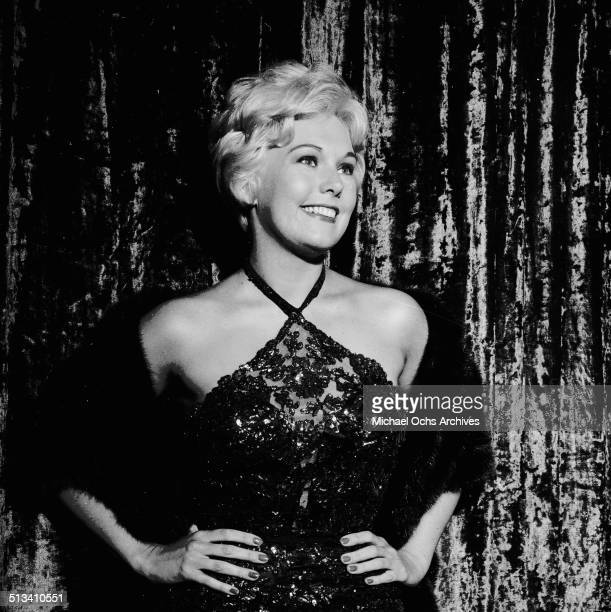 Kim Novak attends an event in Los AngelesCA