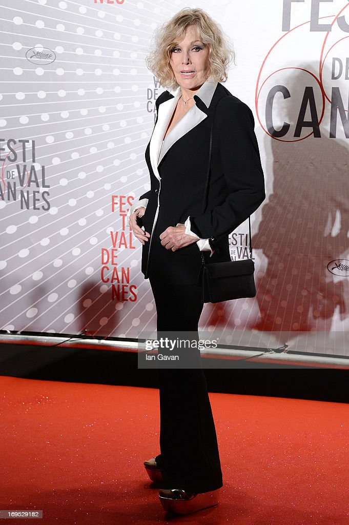 Kim Novak attends he Palme D'Or Winners dinner during The 66th Annual Cannes Film Festival at Agora on May 26, 2013 in Cannes, France.