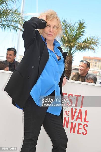 Kim Novak attends the 'Hommage A Kim Novak' photo call during the 66th Cannes International Film Festival