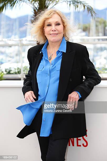 Kim Novak attends the Hommage A Kim Novak photocall during The 66th Annual Cannes Film Festival on May 25, 2013 in Cannes, France.