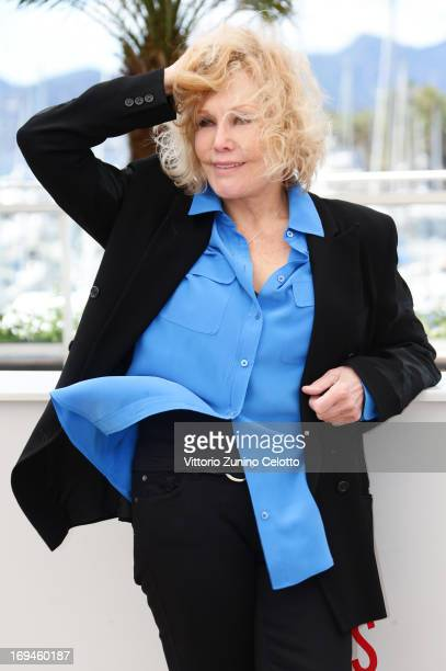 Kim Novak attends the Hommage A Kim Novak photocall during The 66th Annual Cannes Film Festival on May 25 2013 in Cannes France