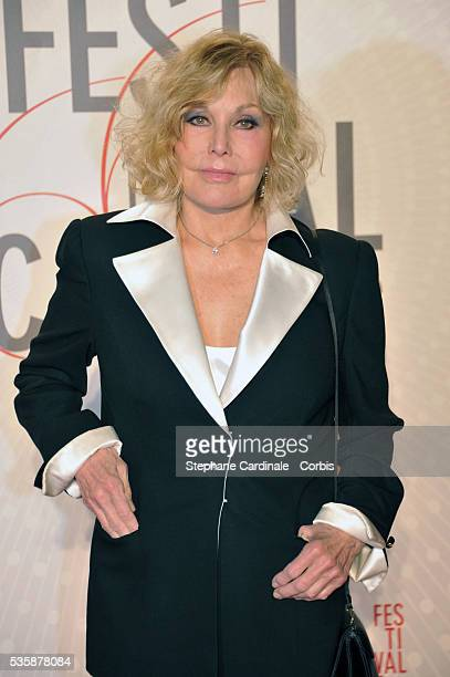 Kim Novak attends the 'Palme D'Or Winners dinner' during the 66th Cannes International Film Festival