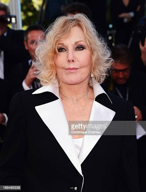 Kim Novak attends the Premiere of 'La Venus A La Fourrure' during the 66th Annual Cannes Film Festival at the Palais des Festivals on May 25 2013 in...