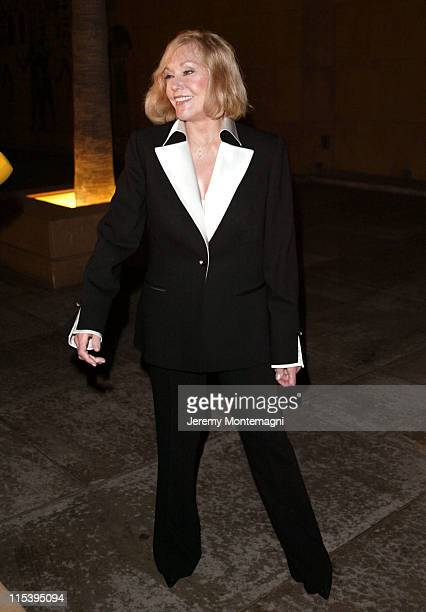 Kim Novak during Screening of Vertigo at The Egyptian Theater in Hollywood California United States