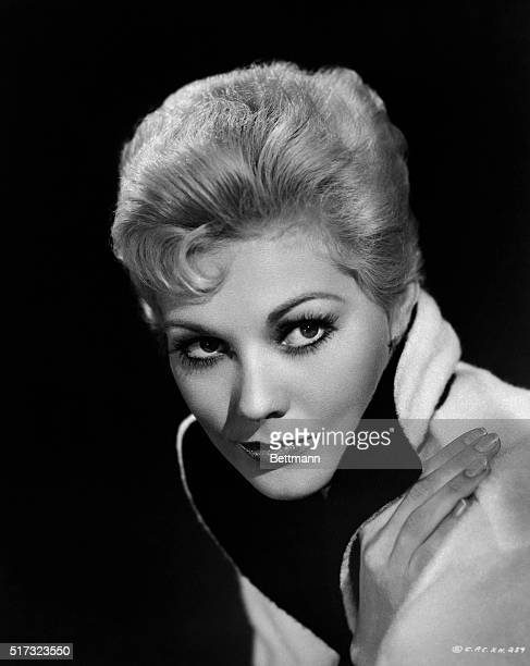 8/1958 Kim Novak film actress Headshot