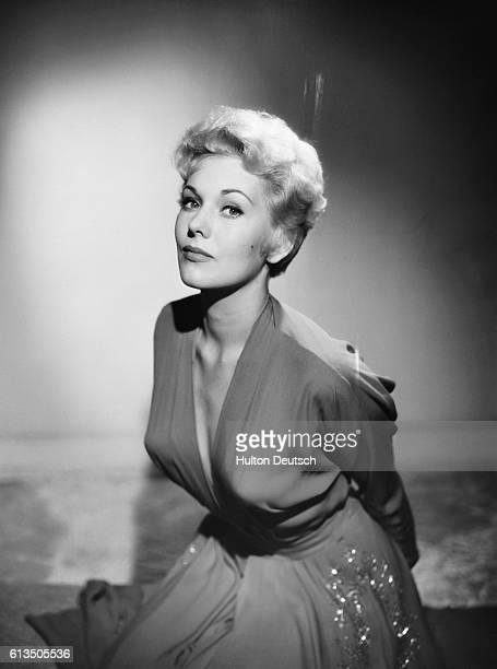 Kim Novak photographed by Baron, 1954.
