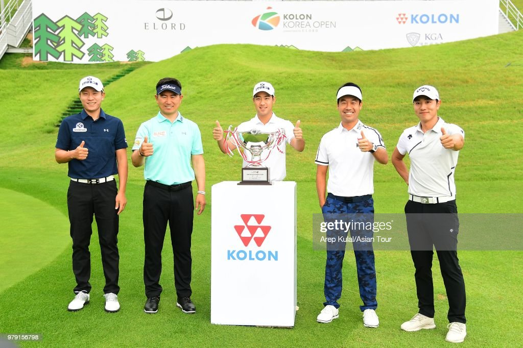 Kolon Korea Open Golf Championship - Practice Round