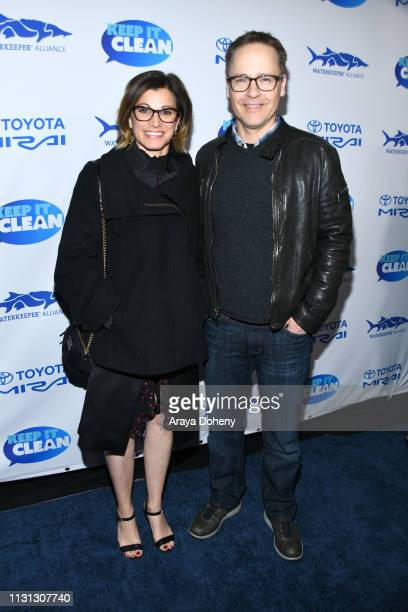 Kim Painter and Chad Lowe at 5th Annual Keep It Clean Live Comedy Benefit For Waterkeeper Alliance at Largo At The Coronet on February 21 2019 in Los...