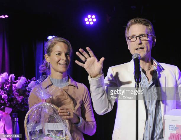 Kim Patteri and Robert Patteri attend the EP Release Party for Jade Patteri held at The Federal NoHo on September 21, 2021 in North Hollywood,...