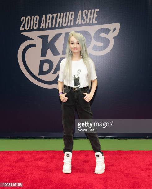 Kim Petras attends the 2018 Arthur Ashe Kids' Day at USTA Billie Jean King National Tennis Center on August 25, 2018 in New York City.