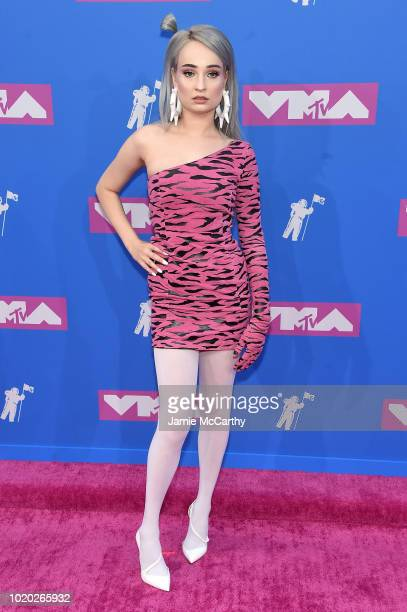 Kim Petras attends the 2018 MTV Video Music Awards at Radio City Music Hall on August 20, 2018 in New York City.
