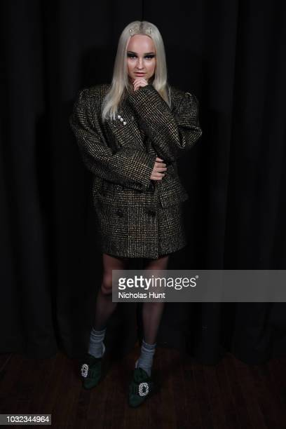 Kim Petras attends the Marc Jacobs Spring 2019 Runway during New York Fashion Week: The Shows at Park Avenue Armory on September 12, 2018 in New York...