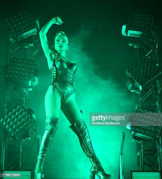 Kim Petras performs during The Clarity Tour at Avant Gardner on November 16, 2019 in Brooklyn, New York.