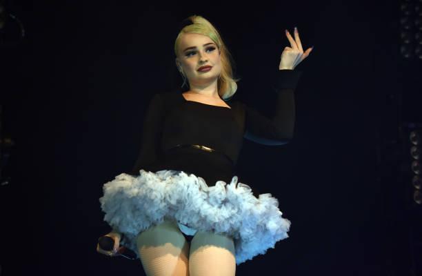 GBR: Kim Petras Performs At O2 Shepherd's Bush Empire, London