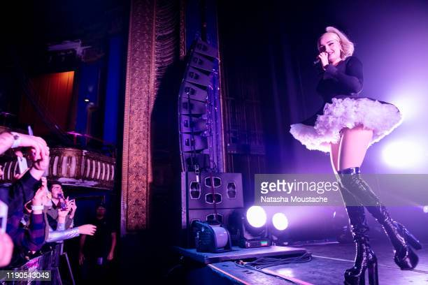 Kim Petras performs onstage at Riviera Theatre on November 27, 2019 in Chicago, Illinois.