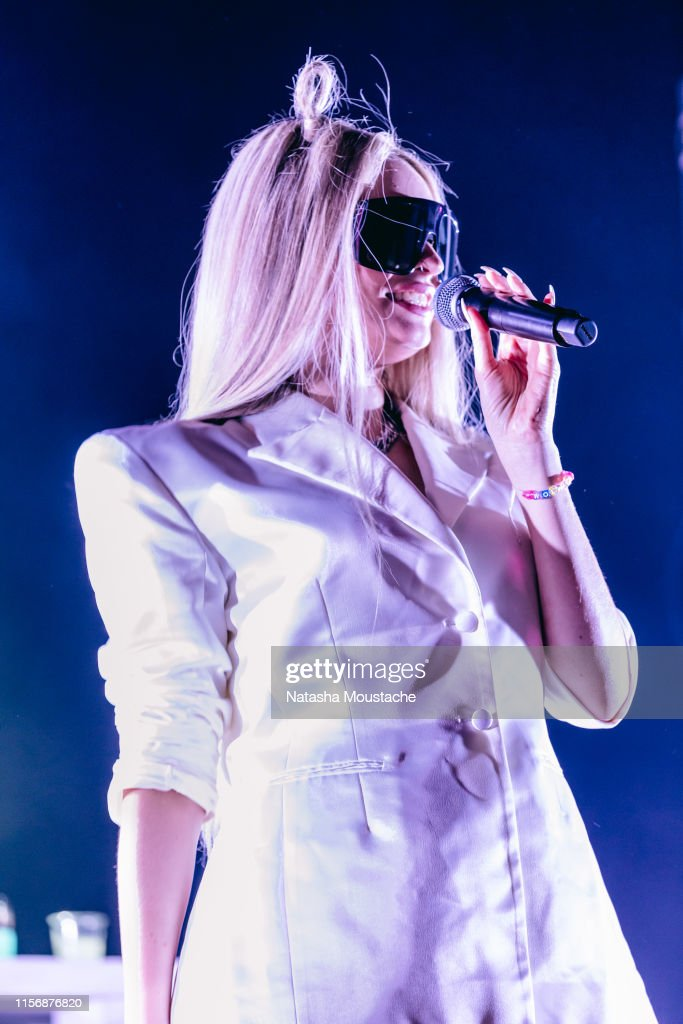 Kim Petras Performs Onstage At The Sinclair On June 18 2019 In News Photo Getty Images