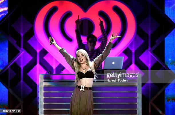 Kim Petras performs onstage during 101.3 KDWB's Jingle Ball 2018 at Xcel Energy Center on December 3, 2018 in St Paul, Minnesota.