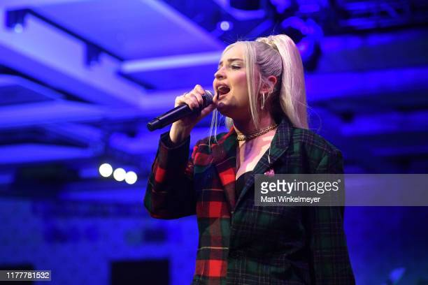 Kim Petras performs onstage during Equality California's Special 20th Anniversary Los Angeles Equality Awards at the JW Marriott Los Angeles at L.A....