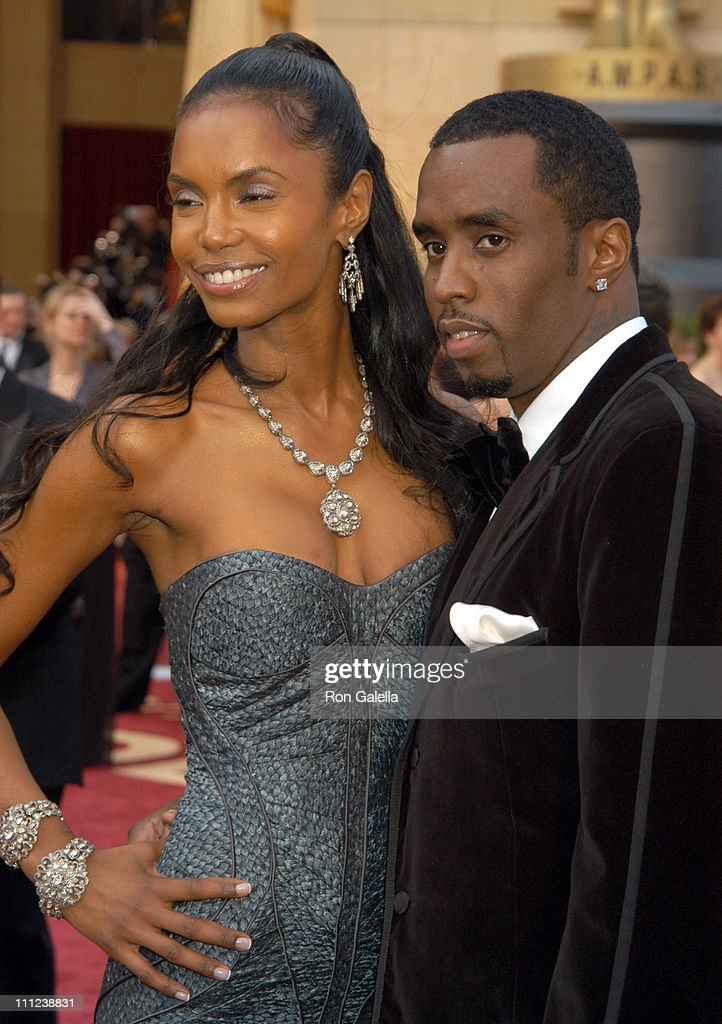 Kim Porter and Sean 'P. Diddy' Combs during The 77th Annual Academy Awards - Arrivals at Kodak Theatre in Hollywood, California, United States.