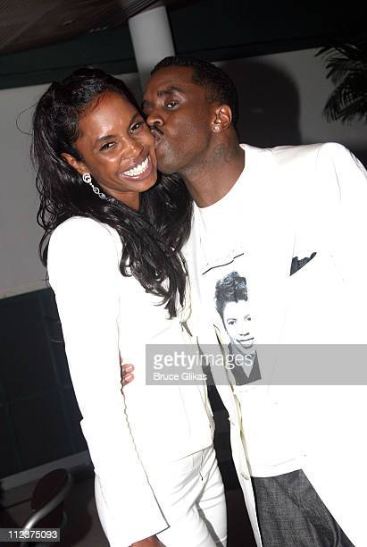 Kim Porter and Sean P Diddy Combs *Exclusive*