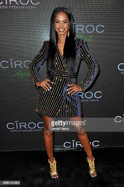 Kim Porter arrives at Sean 'Diddy' Combs Exclusive Birthday Celebration on November 21 2015 in Beverly Hills California