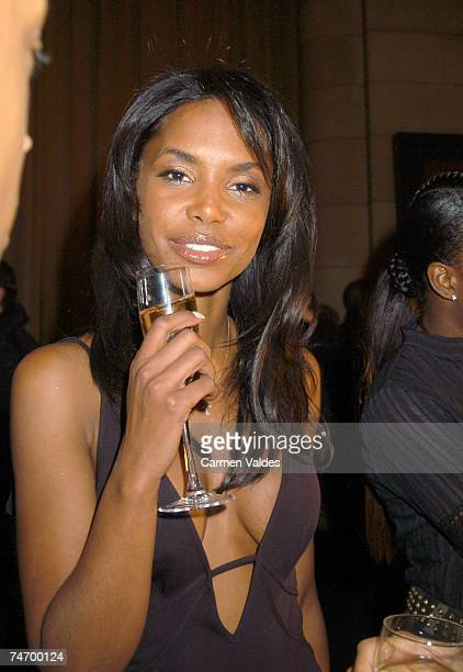 Kim Porter at the Cipriani's in New York City New York