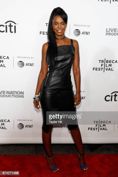 Kim Porter attends the Can't Stop Won't Stop premiere during the 2017 Tribeca Film Festival at Beacon Theatre on April 27 2017 in New York City