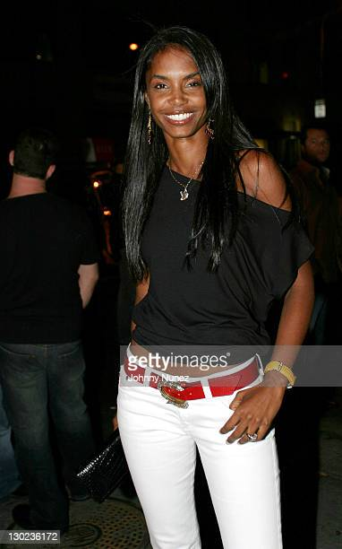 Kim Porter during Narciso Rodriguez Hosts Carmen Kass' 25th Birthday Party at Butter in New York New York United States