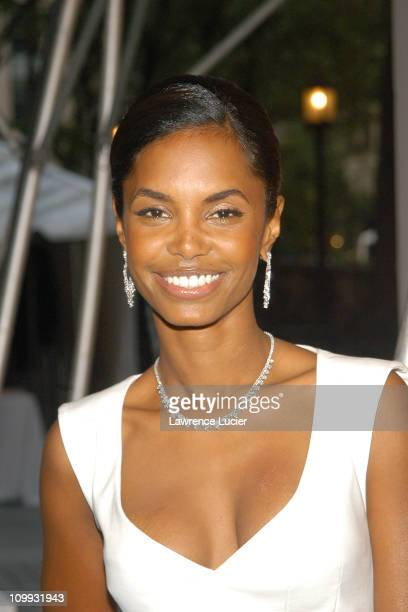 Kim Porter during The 2003 CFDA Fashion Awards Arrivals at New York Public Library in New York City New York United States