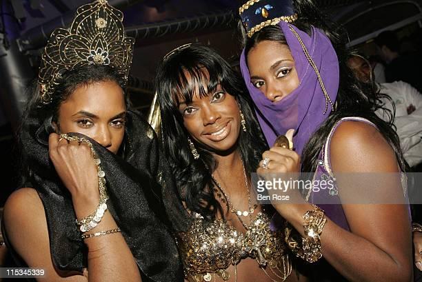 Kim Porter Eboni 'Elektra' Ware and Nicole CookeJohnson of Three Brown Girls