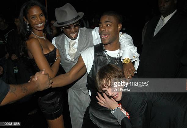 Kim Porter Sean P Diddy Combs Tracy Morgan and Ashton Kutcher