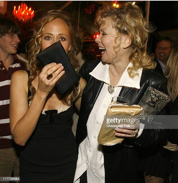 Kim Raver and Jean Smart during '24' Season Five DVD Release at Les Deux in Hollywood California United States