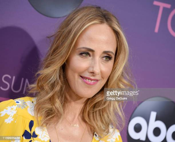 Kim Raver arrives at ABC's TCA Summer Press Tour Carpet Event on August 5 2019 in West Hollywood California