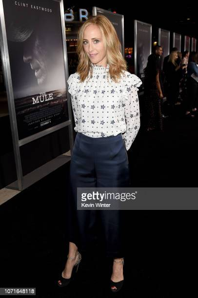Kim Raver arrives at the premiere of Warner Bros Pictures' The Mule at the Village Theatre on December 10 2018 in Los Angeles California