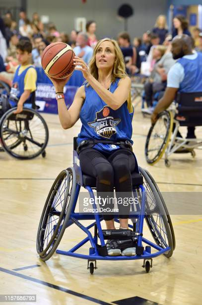 Kim Raver attends 2019 Angel City Games Celebrity Wheelchair Basketball Game Presented By The Hartford on June 22 2019 in Los Angeles California