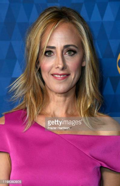 Kim Raver attends ABC Television's Winter Press Tour 2020 at The Langham Huntington Pasadena on January 08 2020 in Pasadena California