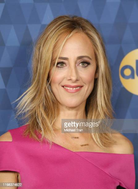 Kim Raver attends ABC Television's Winter Press Tour 2020 held at The Langham Huntington Pasadena on January 08 2020 in Pasadena California
